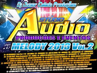 Cd Melody 2013 Vol.2 - Stúdio Áudio Produções de Castanhal
