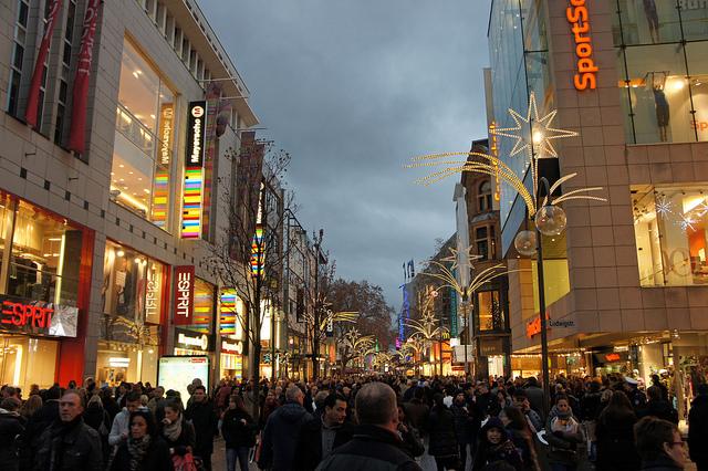 Con đường mua sắm Hohe Strasse, Schildergasse