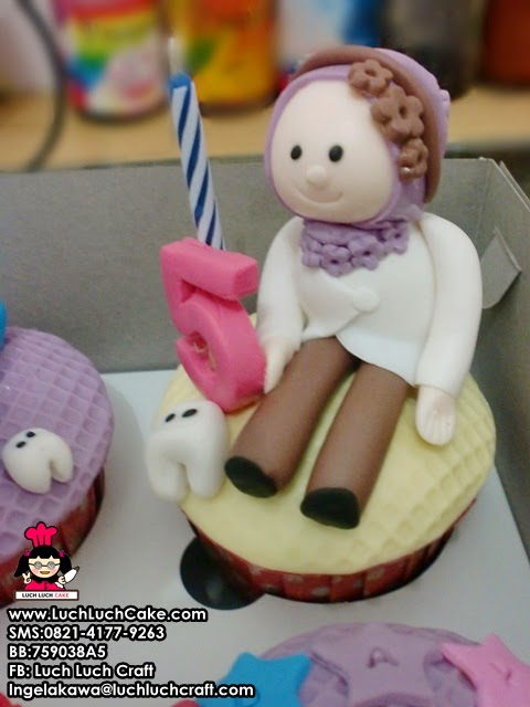 cupcake dokter gigi