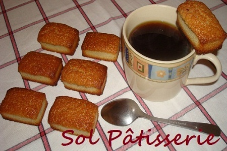 Financiers au beurre