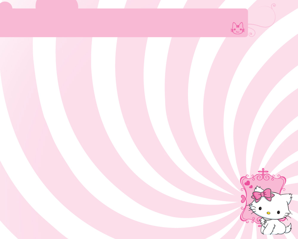 Charmy KItty Pink - Tema Powerpoint