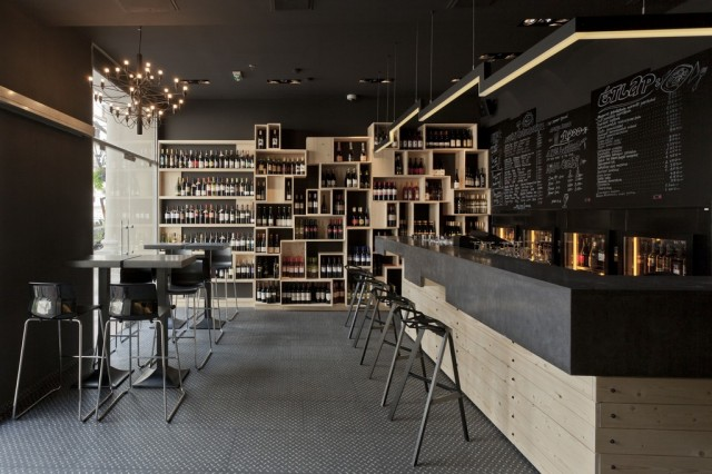 kaper design restaurant hospitality design inspiration divino wine bar. Black Bedroom Furniture Sets. Home Design Ideas