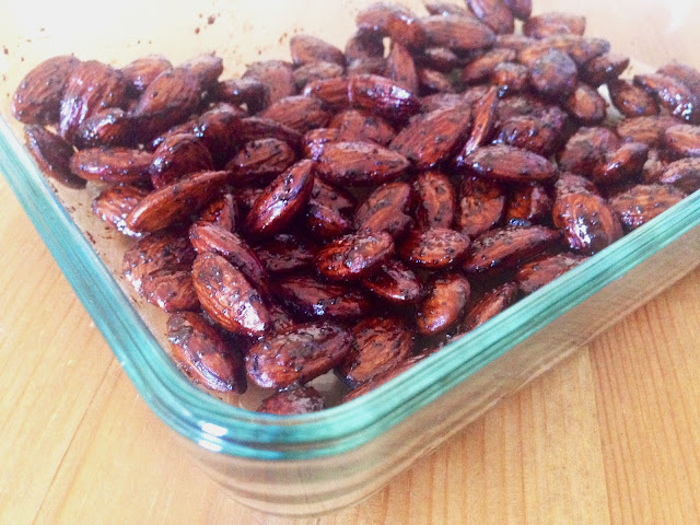 Balsamic Toasted Almonds