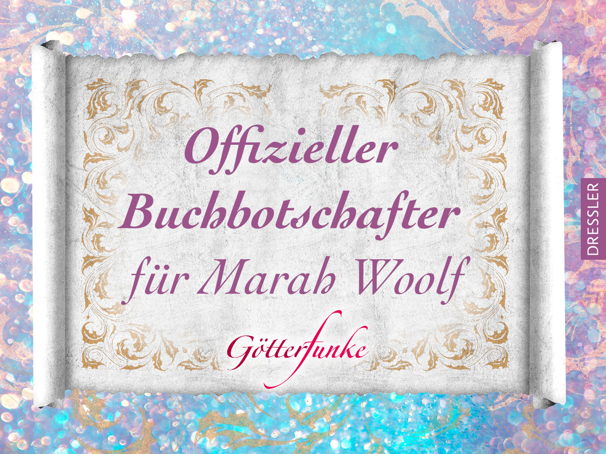 Buchbotschafterin für Marah Woolf