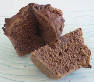 Muffins noisettes-chocolat sans gluten et sans lactose