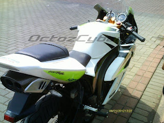 Honda Tiger Revo 2007 - Full Modifikasi concept Honda CBR1000 v.2005