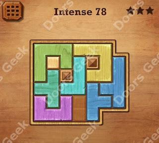 wood block intense level 71 to 80 solutions doors geek