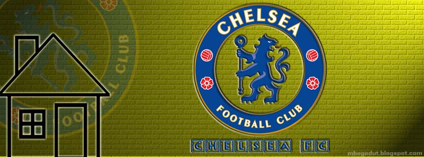 Chelsea FC Facebook Cover Yellow Brick ( download )