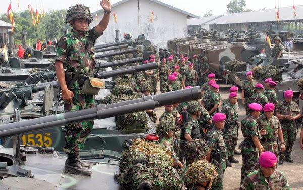 2.000 Marinir bergerak ke sasaran Latgab