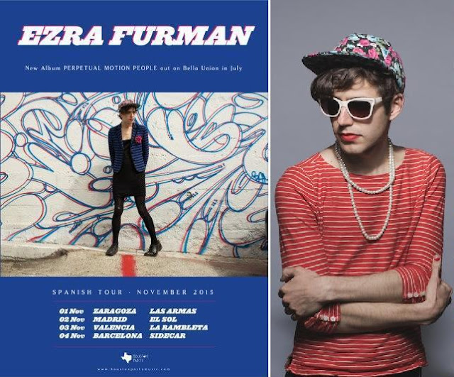 EZRA FURMAN - Spanish Tour November 2015