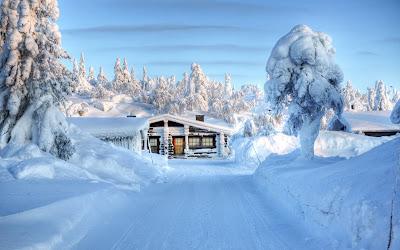 Casa en la nieve muy cerca del Polo Norte - Snow House