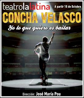 Cartel Concha Velasco Yo lo que quiero es bailar