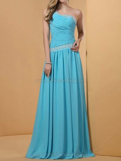 Esfiestamoda: Vestidos de fiesta azul / Blue Party Dresses. Visit www.forarealwoman.com  #fashion #moda #blogger