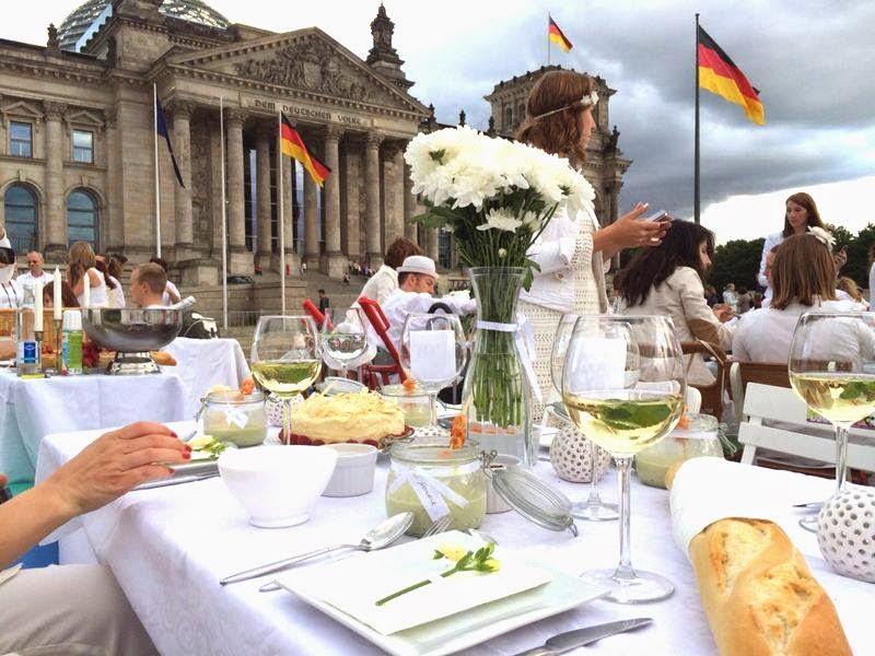 Diner en blanc Berlin