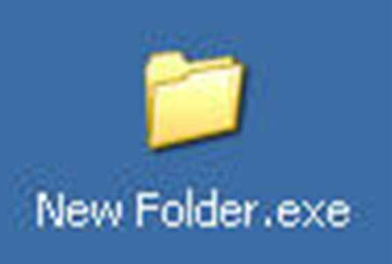 Virus new folder on april 2012