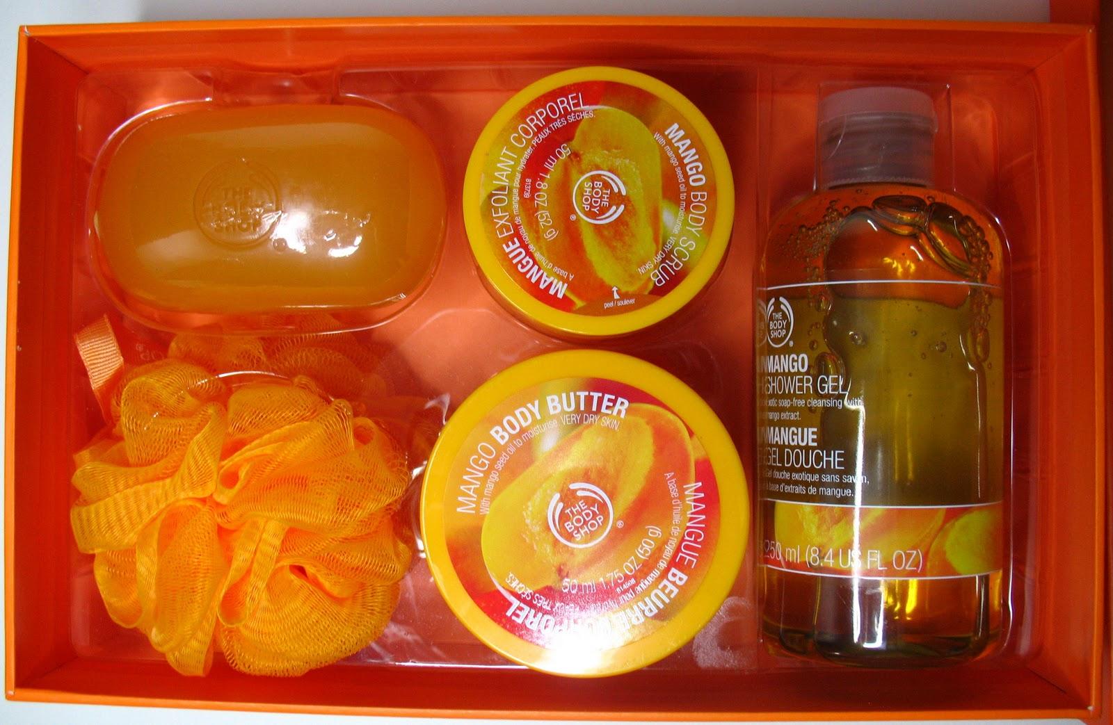 Beyond just beauty the body shop mango body butter body - The body shop mango shower gel ...