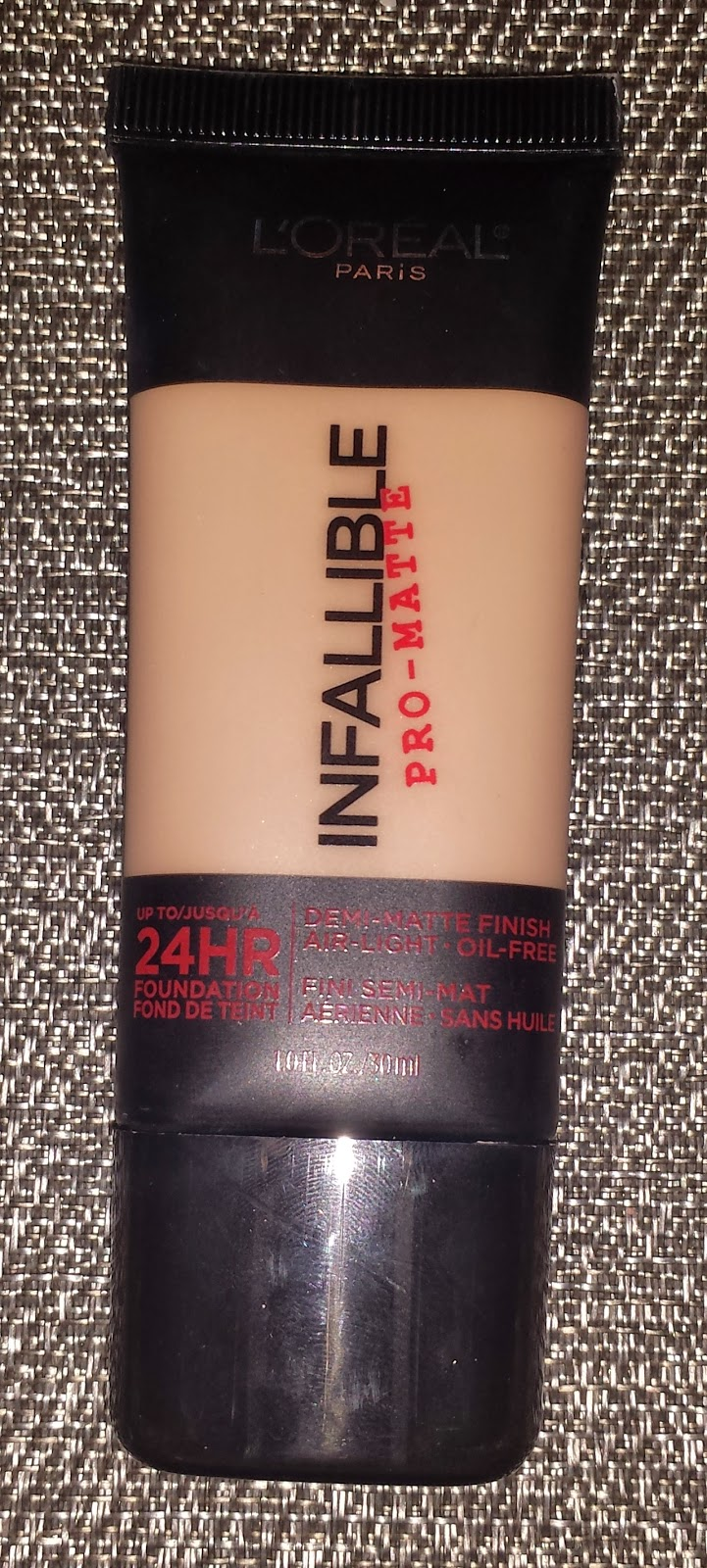 L'Oreal Infalliable Pro-Matte Foundation