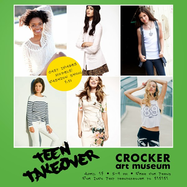 Cast Images - Crocker Art Museum - Teen Takeover 2014