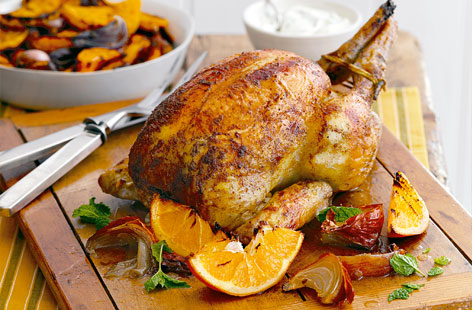 ... chicken recipes invites you to try indian spiced chicken roast squash