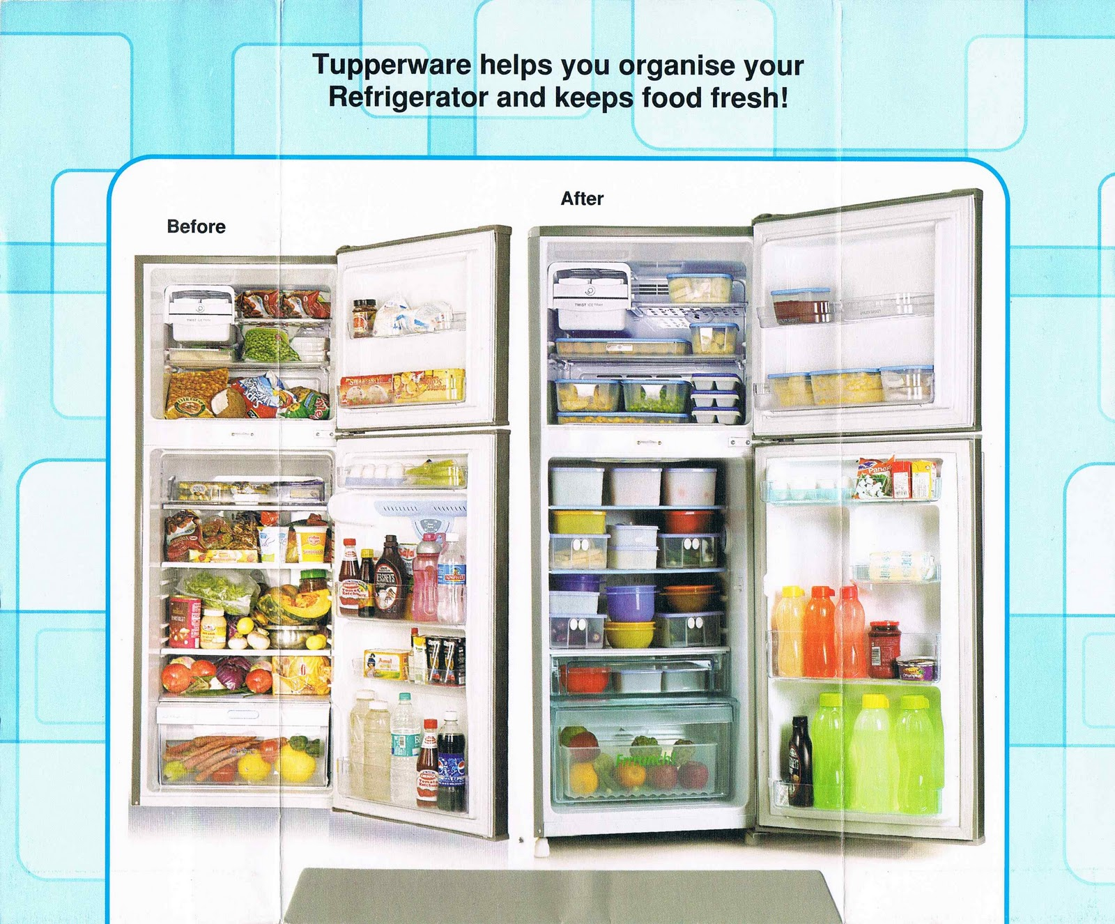 My Tupperware Kitchen: Fridge Reorganized!!!