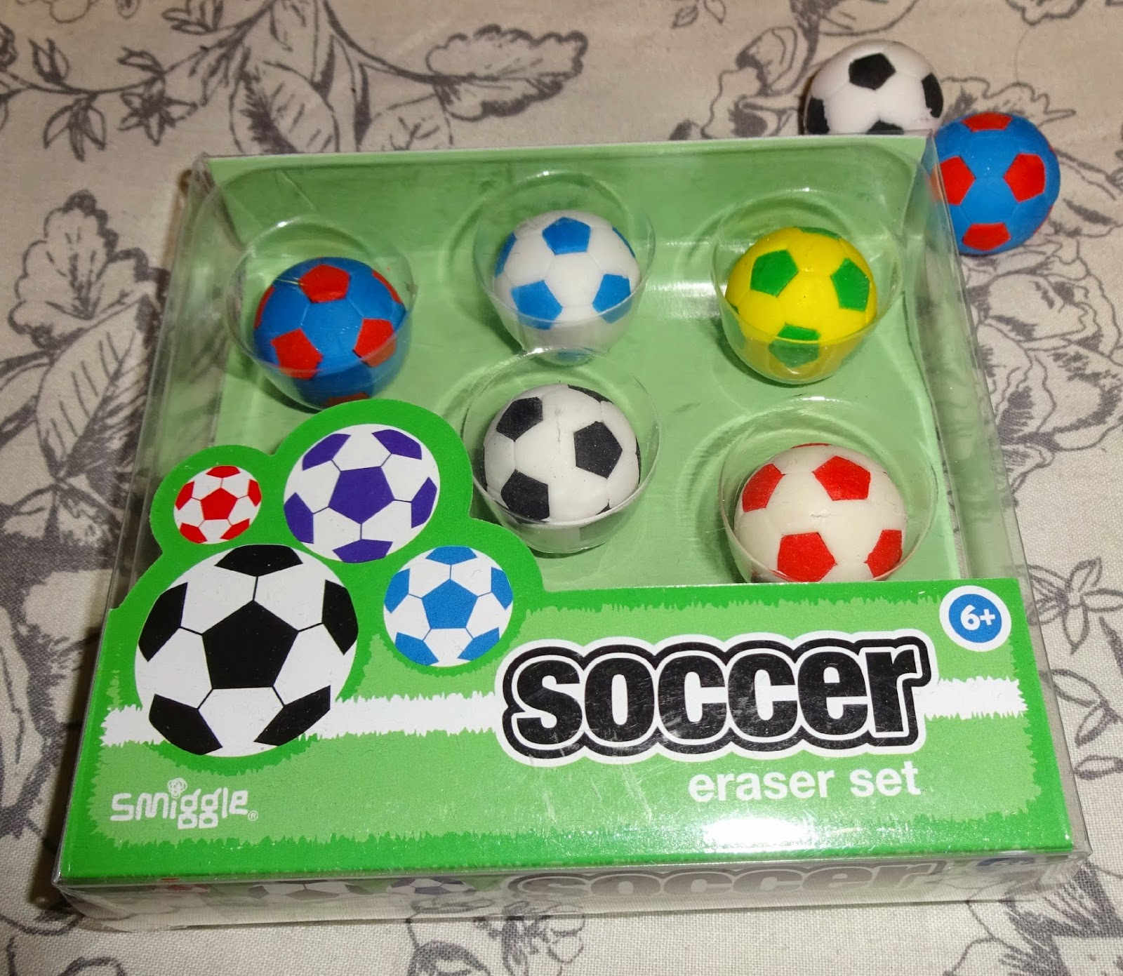 smiggle stationary uk, smiggle soccer eraser set