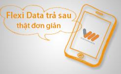 Gói cước 3G Vietnamobile trả sau Flexi Data