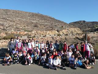 Excursión al Monte de las Cenizas.