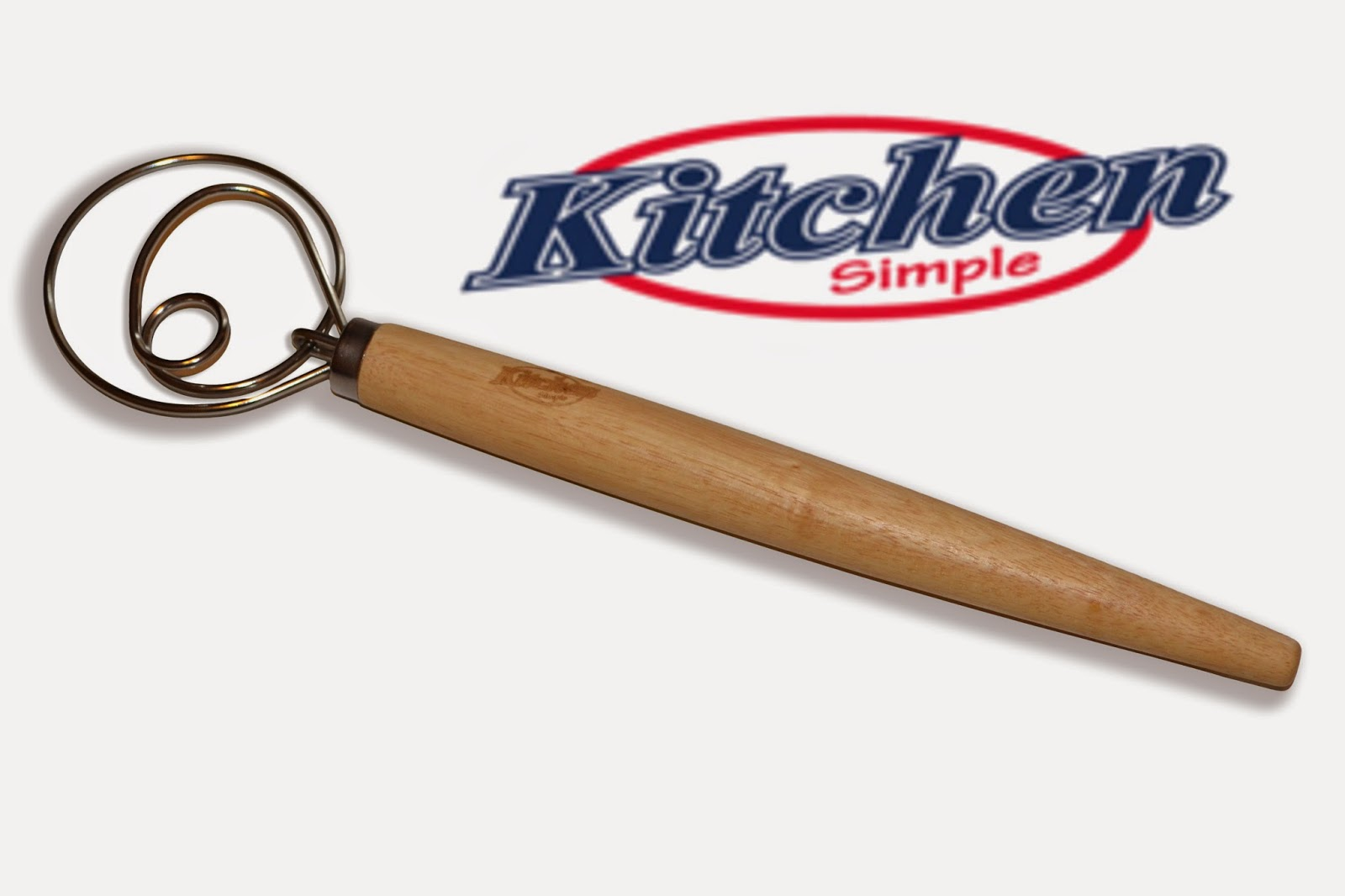 Kitchen Simple Danish Dough Whisk