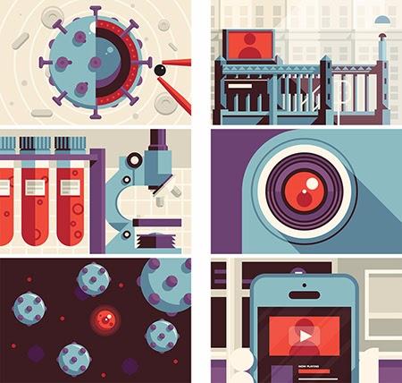 Los diseños e ilustraciones de Justin Mezzell