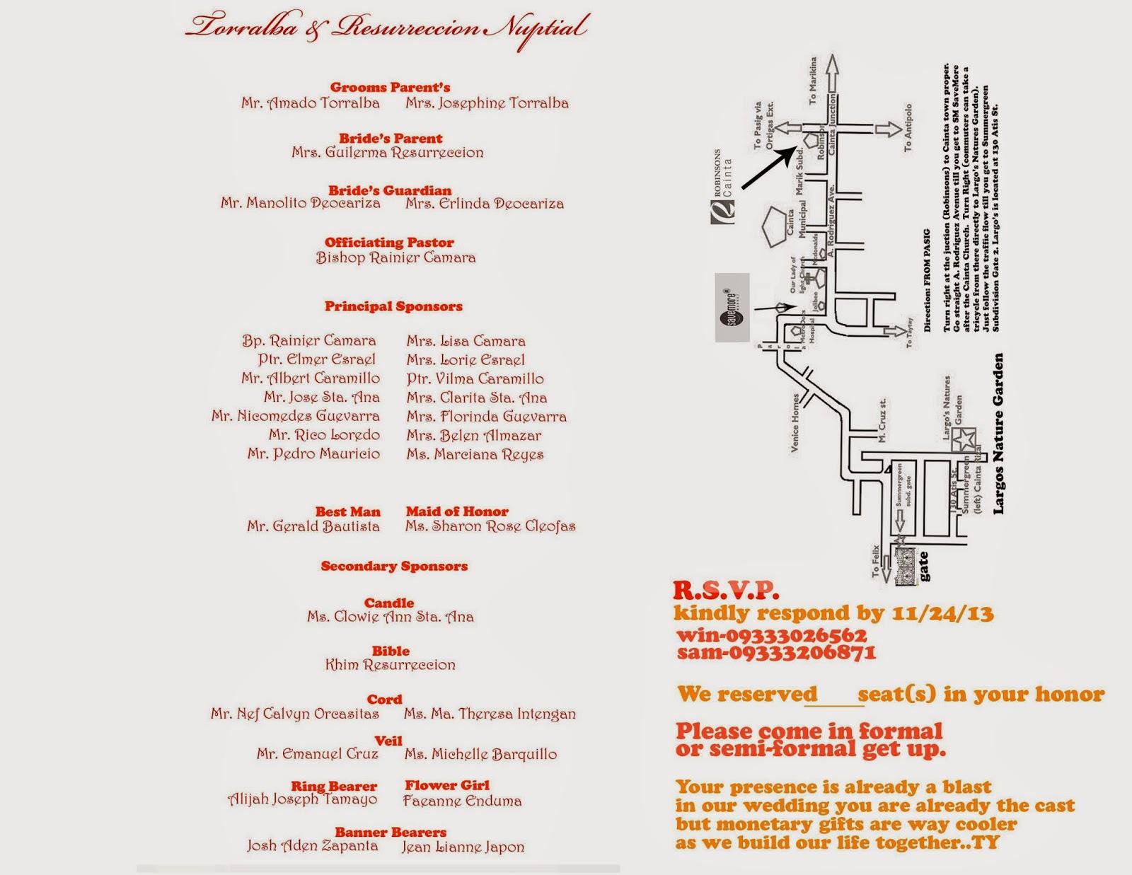 Diy wedding invitation for 100k wedding budget anything under the sam layout for entourage and map stopboris Gallery