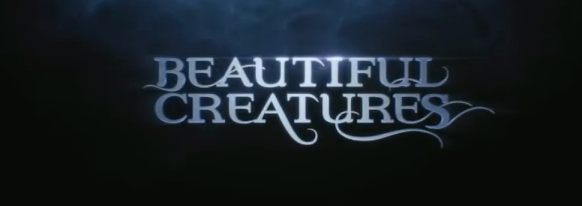 Beautiful Creatures 2013 Warner Bros and Summit Media Young Adult supernatural film title directed by Richard LaGravenese starring Alice Englert, Viola Davis, Emmy Rossum, Emma Thompson, Jeremy Irons