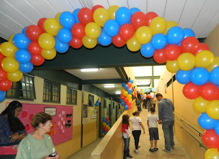 Mostra da educação infantil na Escola Argemiro de Paula Coutinho