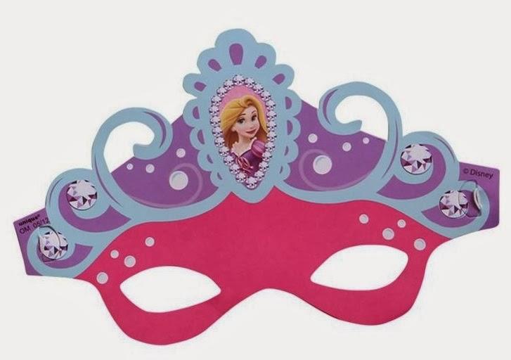 Rapunzel: invitación para imprimir - Todo Bonito