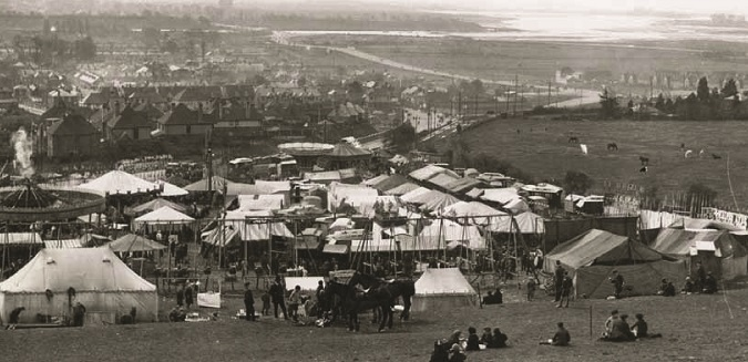 Portsdown Fair 1924