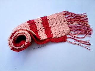 Crochet Scarf, syal rajut