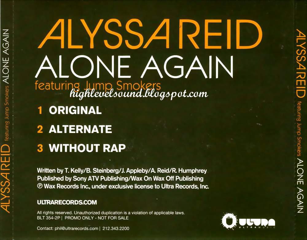 Alyssa Reid - Alone Again Lyrics | MetroLyrics