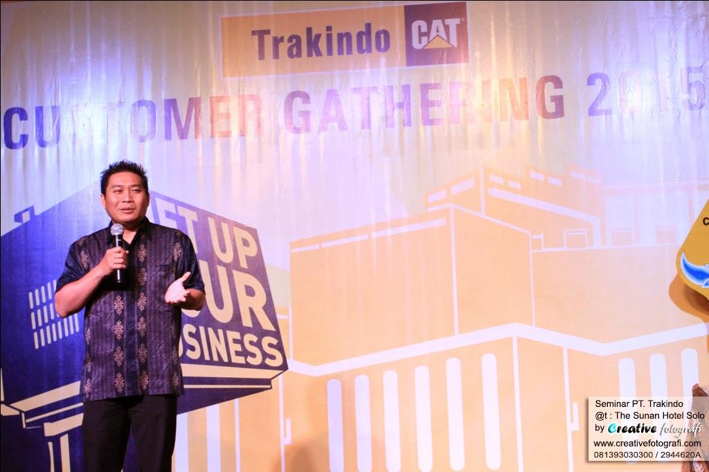foto seminar pt trakindo indonesia yang diabadikan fotografer solo