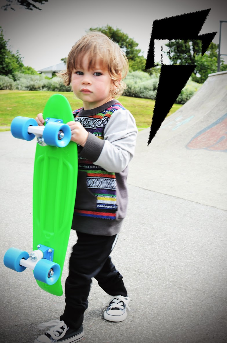 Cool mix with ethnic patterns - Radicool Dude streetwear collection for kids