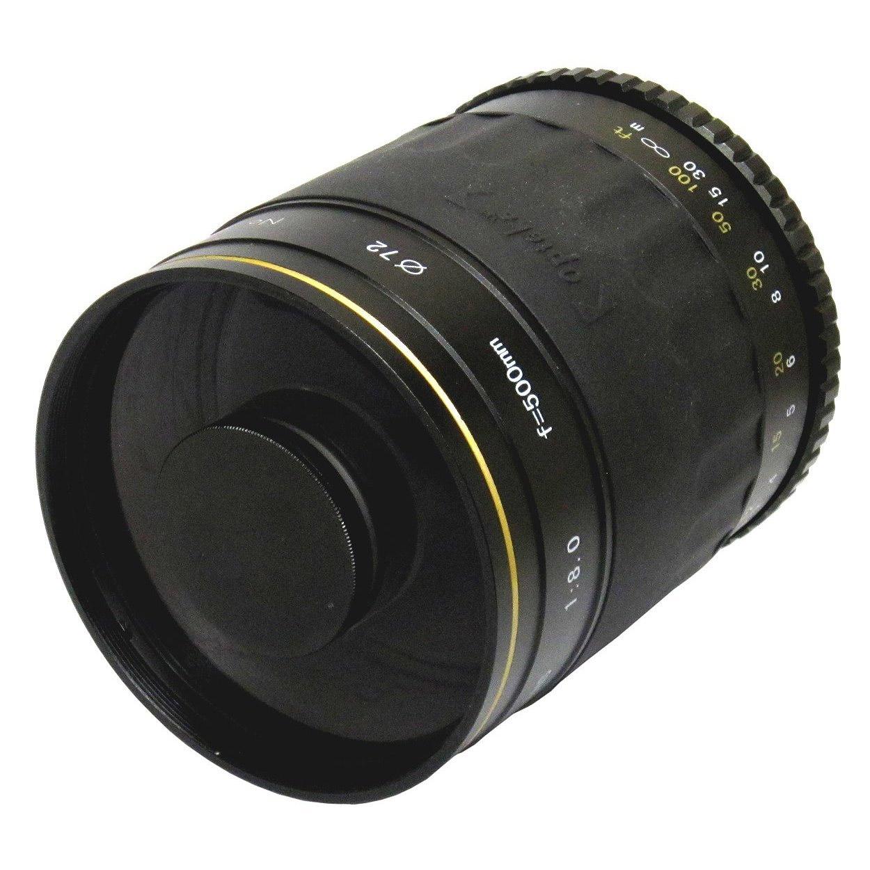 Spiegellen Bad it as a pro lens review opteka 500mm f 8 mirror lens