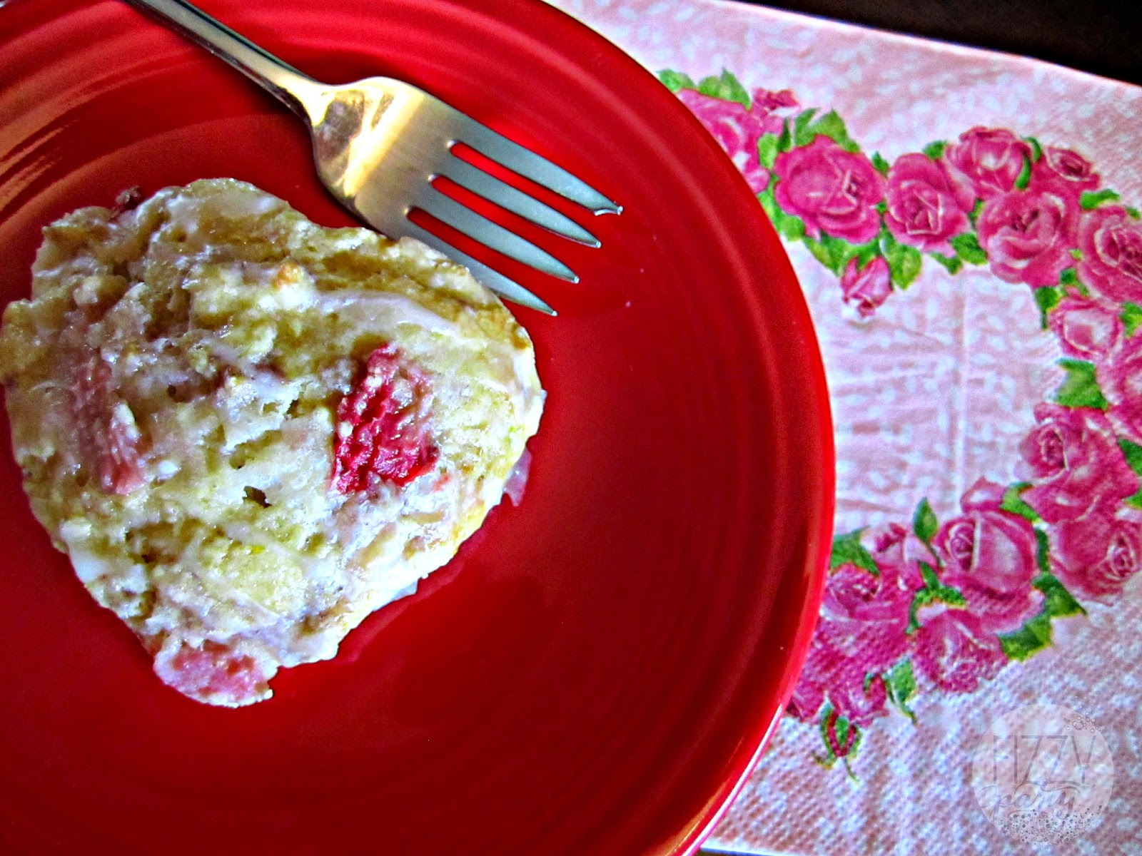 Strawberry lemon scones