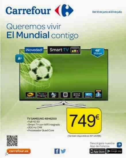 Catalogo Televisores Carrefour Mundial 2014