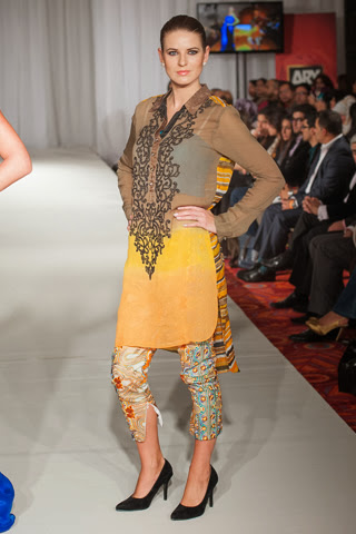 Pakistan Fashion Week London Lakhani Collection 2013-2014