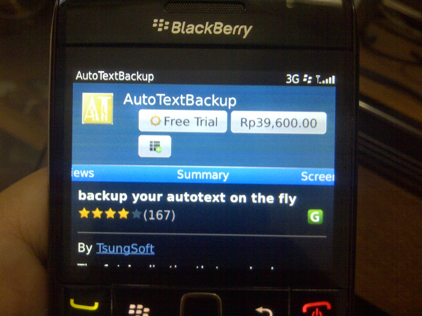 cara backup autotext blackberry