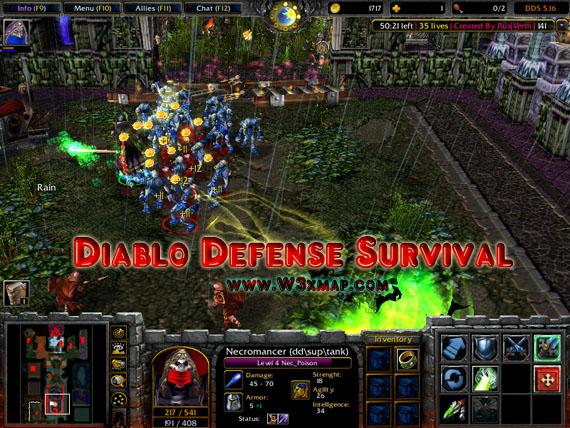 Diablo Defense Survival V533