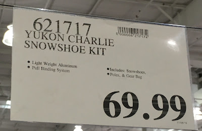 Deal for the Yukon Charlie Snowshoe Kit at Costco