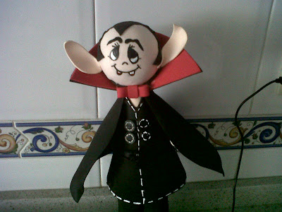 Fofucha Drácula. Halloween
