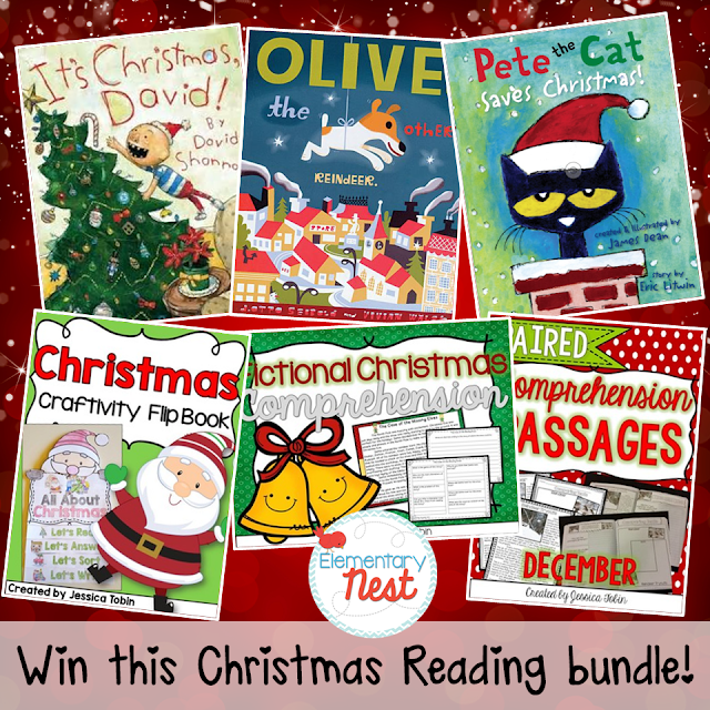 Second Grade Nest: A Christmas GIVEAWAY!