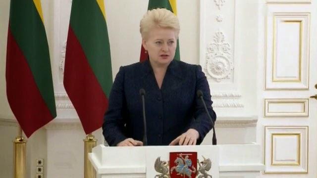 Президент Литвы Гриабускайте заявила, что первоочередным вопросом для Украины является искоренение коррупции