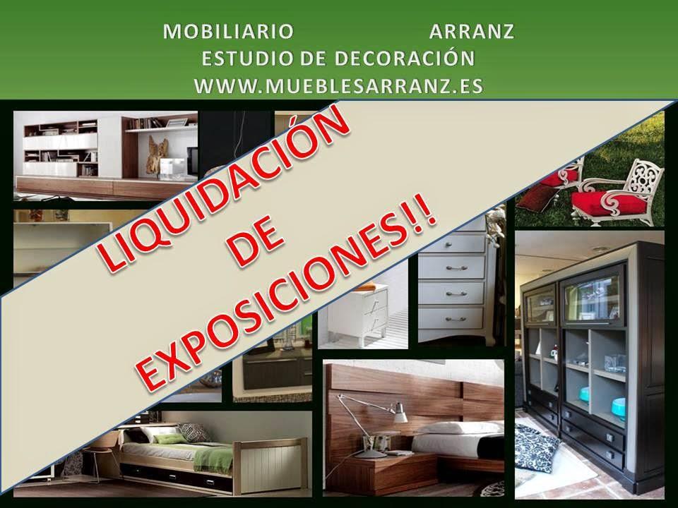 Muebles arranz liquidaci n de exposiciones for Liquidacion de muebles