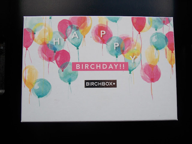 Birchbox August 2015 5 year anniversary box